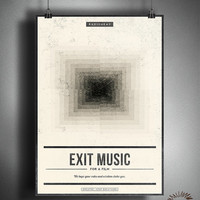 Radiohead EXIT MUSIC (For a Film) - Unique Poster Artwork -  Customizable