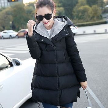 New Winter Maternity Coat Warm Jacket Maternity Down Jacket Pregnant Clothing Women Outerwear Parkas Winter Warm Clothing