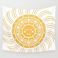 Sunshine Wall Tapestry by Creative Break
