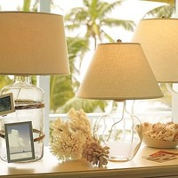 Bacchus Glass Table & Bedside Lamp | Pottery Barn