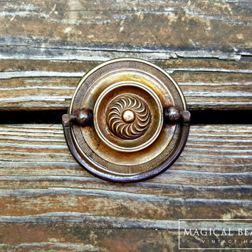 Rustic Home Decor Rustic Country Decor Furniture Pulls Round Hepplewhite Dresser Pulls Big Round Dresser Pulls Vintage Brass Drawer Pulls