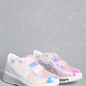 Y.R.U. Holographic Sneakers