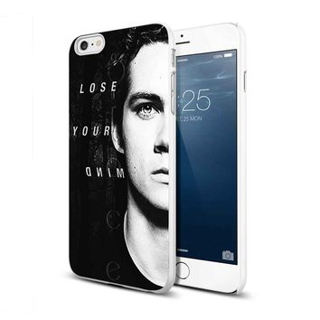 dylan o brien lose your mind For iPhone 6/6s White Case
