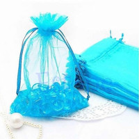 10/50/100 PCS 7x10cm Organza Jewelry Candy Gift Pouch Bags Wedding Xmas Favors = 1932642180