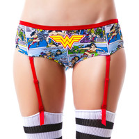 Undergirl Wonder Woman Comic Art Panty Multi