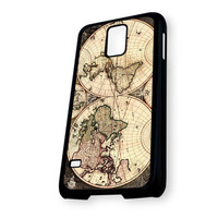 Vintage World Classic Map Samsung Galaxy S5 Case
