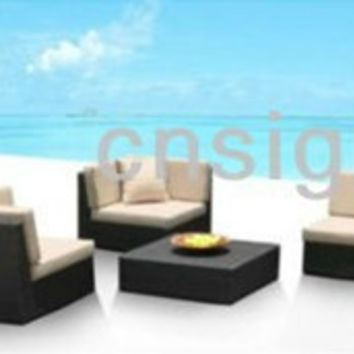 2017 Living room furniture Rattan furniture sectional sofas corner furniture Sofa