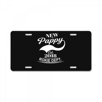 New Pappy 2018 License Plate