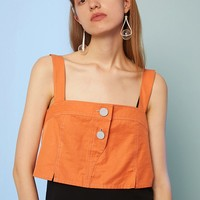 Strap Cropped Top