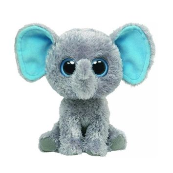TY Beanie Boos Peanut the Elephant Dog Cat Owl Seal Penguin Plush Regular Stuffed Animal Collection Soft Big Eyes Doll Toy