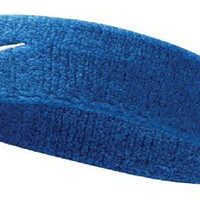 Nike Swoosh Headband (Royal Blue/White, Osfm)