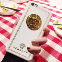Versace Trending  iPhone Phone Cover Case For iphone 6 6s 6plus 6s-plus 7 7plus hard shell White