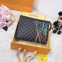 Louis Vuitton LV Leather Pouch