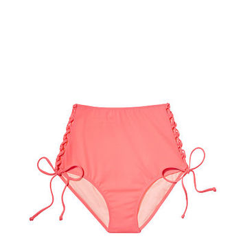 Lace-up High-waist Cheeky - Victoria's Secret