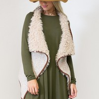 Fabulous Open Cardigan Vest