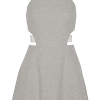 Elizabeth and James - Kayne textured-knit mini dress