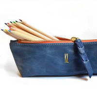 Pencil Pouch | Amber - K.slademade
