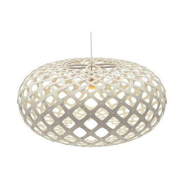 David Trubridge White Kina Pendant Light