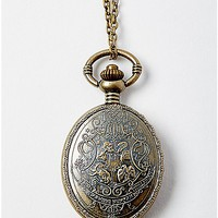 Houses Harry Potter Pocket Watch Pendant Necklace - Spencer's