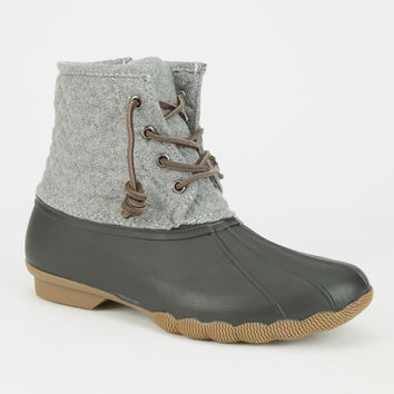 Steve Madden Tillis Womens Boots Grey  In Sizes