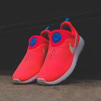 Nike Roshe Run Slip On - Laser Crimson / White