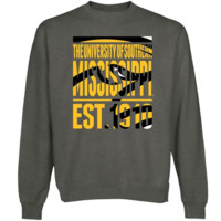 Southern Miss Golden Eagles Lineage Sweatshirt - Gunmetal