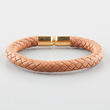 La Familia Braided Shells Bracelet Tan One Size For Men 26730041201