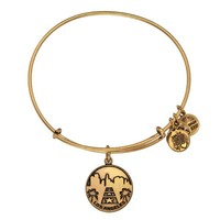 Alex and Ani Los Angeles Charm Bangle - Russian Gold