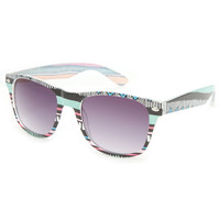 Full Tilt Raz Tek Sunglasses Pastel One Size For Women 20784795201