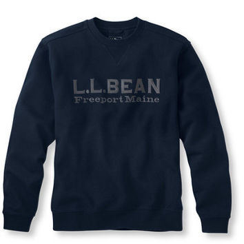 Men's Athletic Sweats, Logo Crew: Sweaters and Sweatshirts | Free Shipping at L.L.Bean