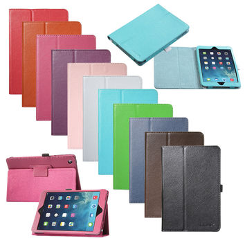 Magnetic Apple iPad Mini 1 2 3 Leather Smart Stand Cover