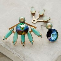 Elizabeth Cole Caicos Mismatched Earrings in Turquoise Size: One Size Earrings