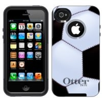 Otterbox Commuter Soccer Ball Case for Apple iPhone 4