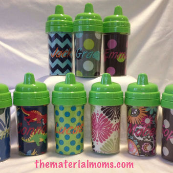 Personalized Sippy Cup - 10oz