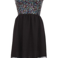Sweetheart Sequin Dress - Kely Clothing