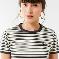 Stussy Frankie Striped Ringer Tee | Urban Outfitters