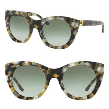 Tory Burch 52mm Cat Eye Sunglasses | Nordstrom