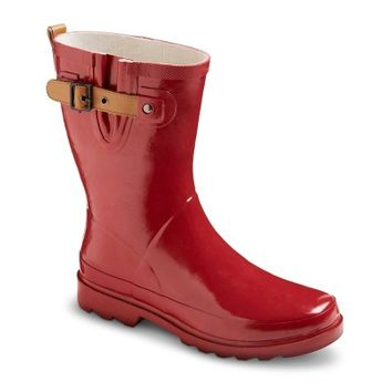 Women's Premier Short Rain Boots - Red