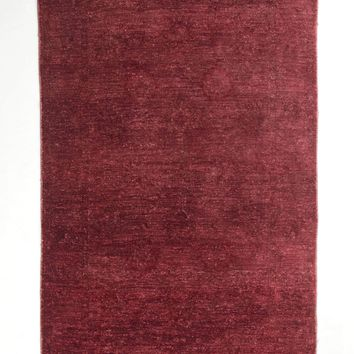 4x6 Overdyed Chobi Modern Blush Red Rug 1169