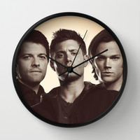 SUPERNATURAL Wall Clock by Hands in the Sky