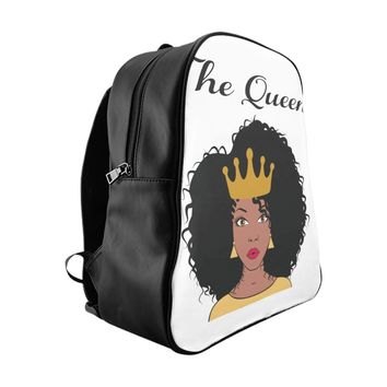 African Queen School Backpack