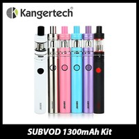 100% Authentic Kanger SUBVOD Starter Kit Electronic Cigarette Toptank Nano 3.2ml or 1.9ml Atomizer and 1300mAh Battery