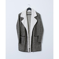 Go To Sweater Coat - Gray