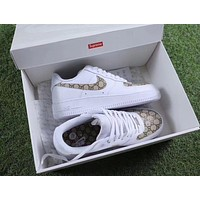 Tagre™ Gucci x NIKE Air Force Women Men Running Sport Casual Shoes Sneakers