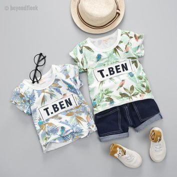 Toddler Baby Boys Summer Beach Suit