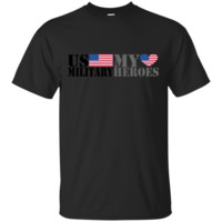 US MILITARY MY HEROES T-Shirts T-shirt