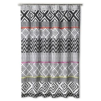 Mudhut™ Talavera Tie Dye Shower Curtain - Multicolored (6'X6')