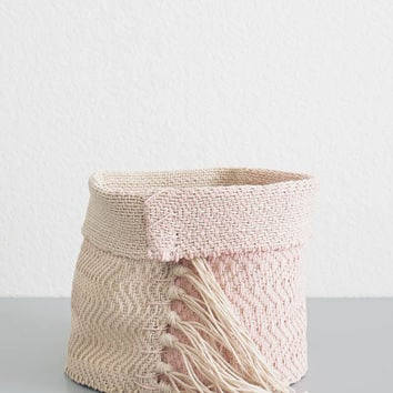 Rose Hemp Basket - Small