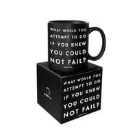 QUOTABLE WHAT WOULD YOU ATTEMPT MUG