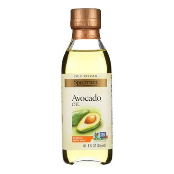 Spectrum Naturals Avocado Oil - Refined - 8 Oz - Case Of 6
